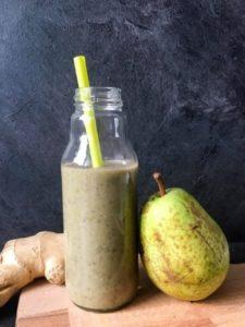imunitní hruškové smoothie