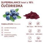 Informácie o ingrediencii čučoriedka