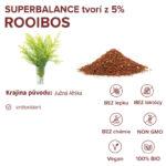 Informácie o ingrediencii rooibos