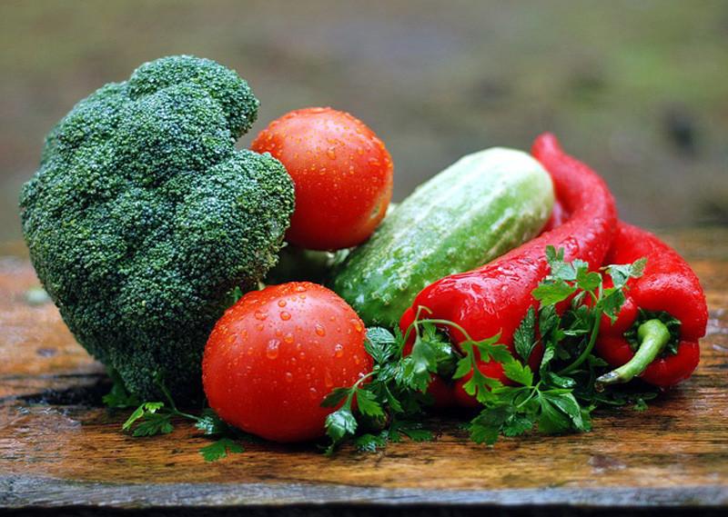 železo v potravinách, železo v zelenine